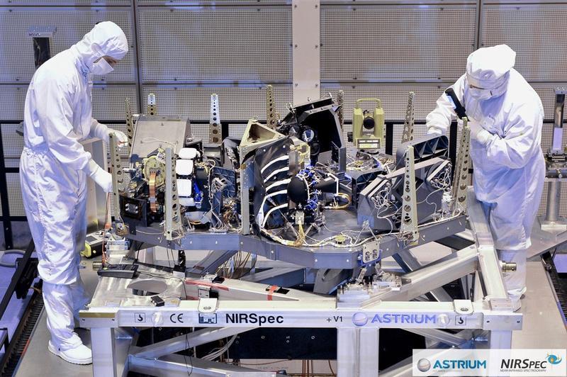 Astrium/NIRSpec/GSFC/NASA/ESA.