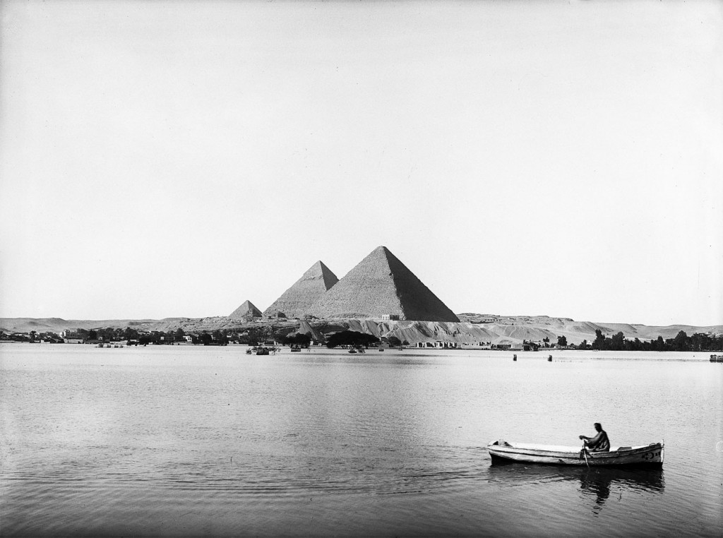 Pirâmides e Nilo