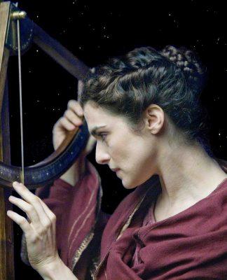 Hipátia de Alexandria, no filme Ágora, de Alejandro Almenábar