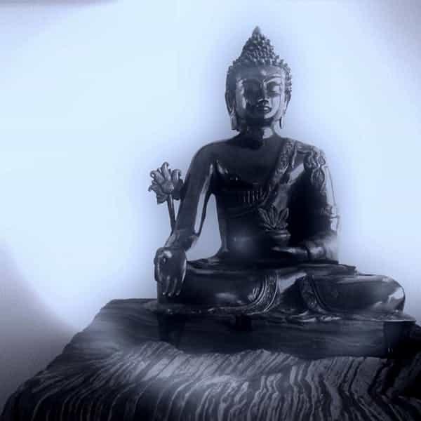 Budistas não acreditam em um Deus criador. (Keith Cuddeback, CC BY-NC-ND)