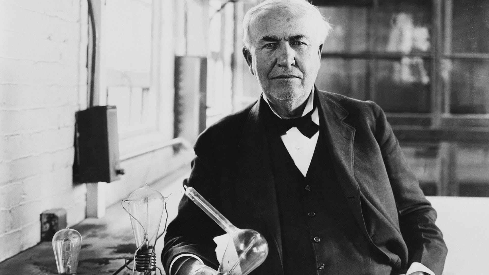 Por que Thomas Edison não ganhou o Prêmio Nobel?